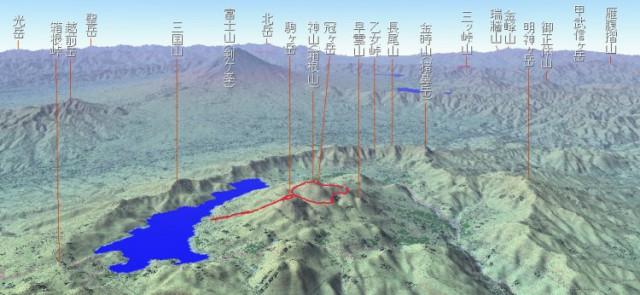 箱根周辺山